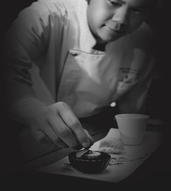 The executive Chef, Chef Kenny Lai