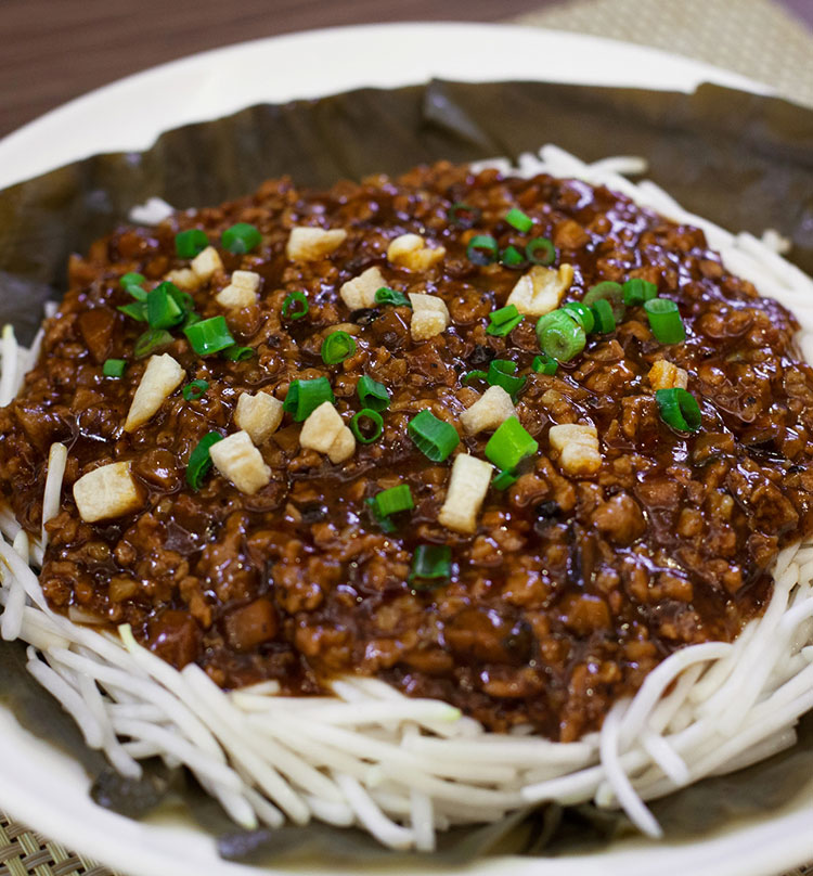 Stewed Japanese Vermicelli with Iberico Pork Floss